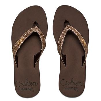 Reef Star Cushion Sandal - Bronze