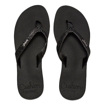 Reef Star Cushion Sandal - Black