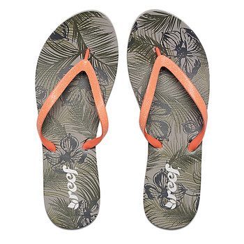 Reef Stargazer Prints Sandal - Olive Tropical