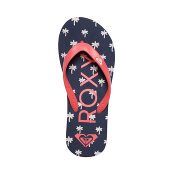 Roxy Girls Tahiti Flip Flop - Blue Mist