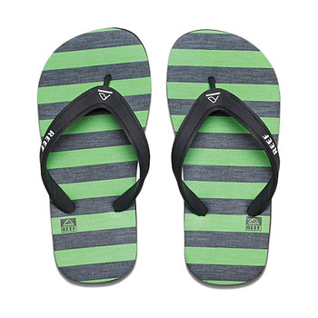 Reef Grom Switchfoot Prints Sandal - Green / Black