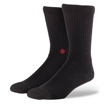 Stance Icon Sock - Black / Red