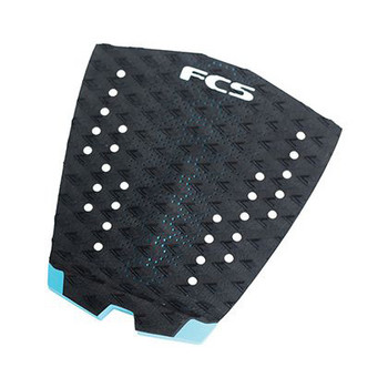 FCS T-1 Traction Pad - Black Teal