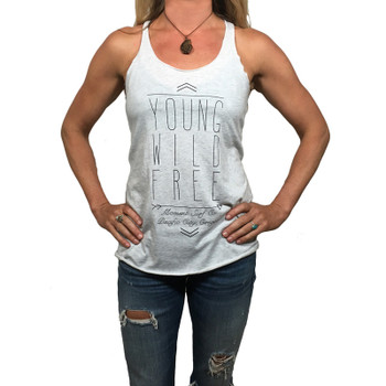Moment Young Wild And Free Tank - White