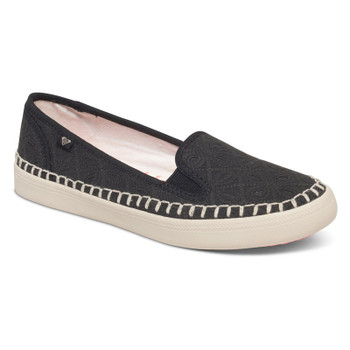 Roxy Malibu Espadrilles Slip On Shoes - Black