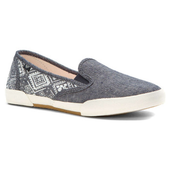 Roxy Malibu II Slip On Shoes - Blue