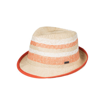 Roxy Big Swell Stripe Straw Fedora - Lark