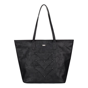 Roxy Mosaic Spirit Tote Bag - True Black