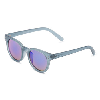 Vans Welborne Sunglasses - Blue Stone Frosted Translucent