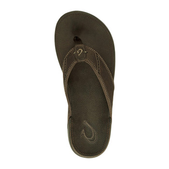 Olukai Nui Sandals - Seal Brown / Seal Brown