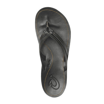 Olukai U'I Sandals - Black / Black