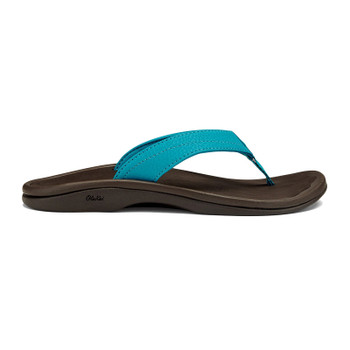 Olukai 'Ohana Sandals - Tropical Blue / Dark Java