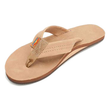 Rainbow Women's Premier Leather Single Layer Sandal - Sierra Brown