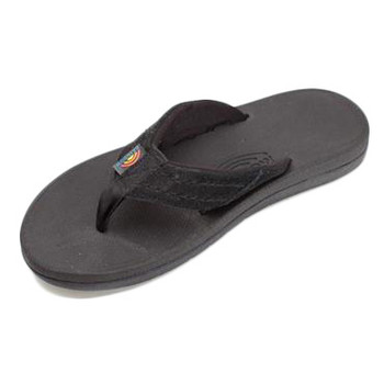 Rainbow East Cape Sandal - Black