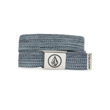 Volcom Circle Web Belt - Coastal Blue