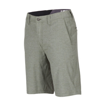 Volcom Surf N Turf Static Hybrid Shorts - Army Green Combo