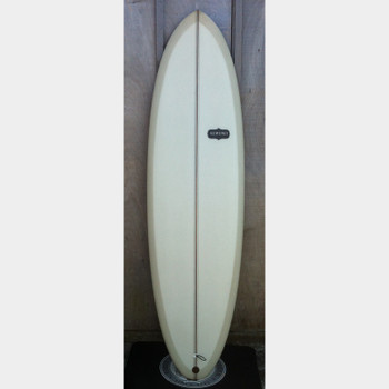 "Almond Pleasant Pheasant 6'6"" Surfboard"