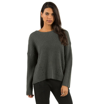 Element Farewell Sweater - Charcoal