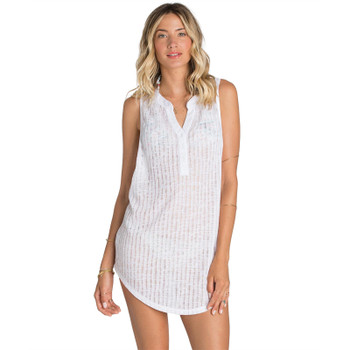 Billabong Wild One Cover Up Dress - White