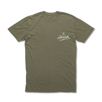 Roark Revival The Sea Hates a Coward Tee - Army
