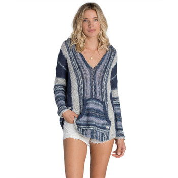 Billabong Seaside Ryder Stripe Sweater - Blue Tide