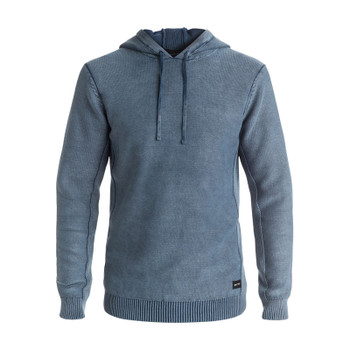 Quiksilver Courtyard Hooded Sweater - Dark Denim