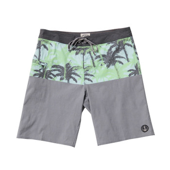 Captain Fin Paradise Panel Boardshort - Charcoal