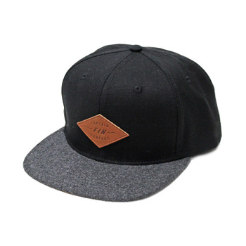 Captain Fin Skippy Hat - Black