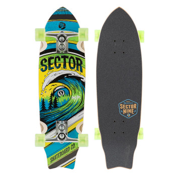 Sector 9 Wave Park Skateboard