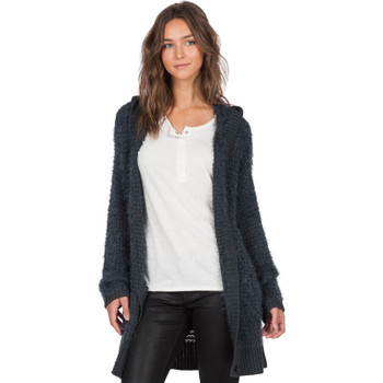 Volcom First Like Cardigan - Dark Navy