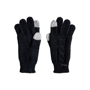 Roxy Winter Lov Touchscreen Gloves - True Black