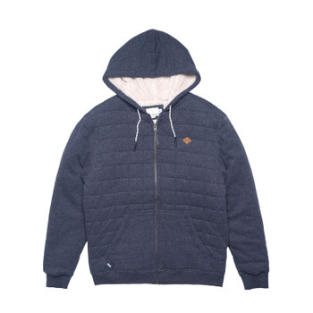Rip Curl Surf Check Sherpa Fleece - Navy