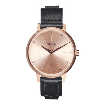 Nixon Kensington Leather Watch - Rose Gold / Bridle