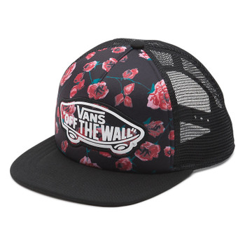 Vans Beach Girl Trucker Hat - Painted Rose