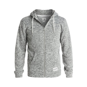 Quiksilver Keller Zip Hoodie - Light Grey Heather