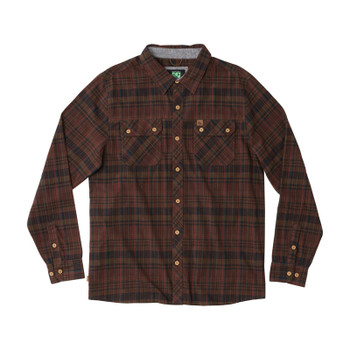 HippyTree Morro Flannel - Rust