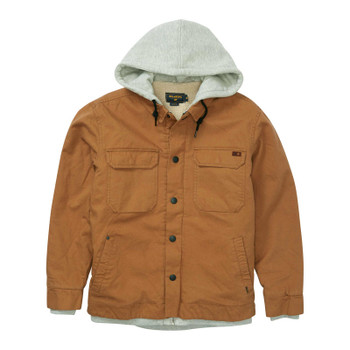 Billabong Barlow Sherpa Jacket - Dark Camel