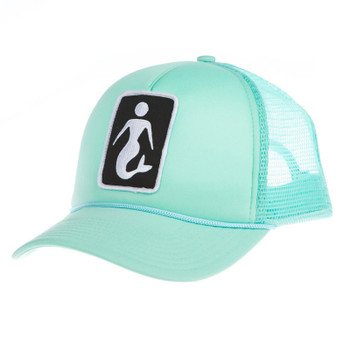 Finmade Mermaid Snapback Hat - Beach Glass