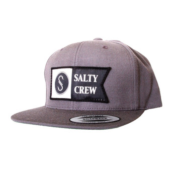 Salty Crew Alpha Hat - Charcoal
