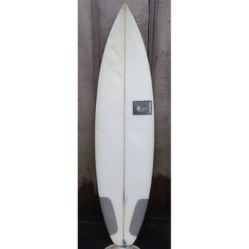 "Used Christenson Shortboard 6'2"" Surfboard"
