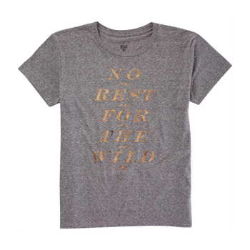 Billabong No Rest For The Wild Tee - Dark Athletic Grey