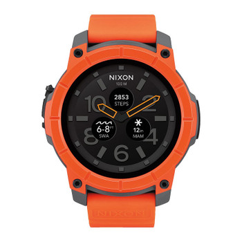 Nixon Mission Watch - Orange / Gray / Black