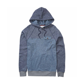 Billabong Balance Half Zip Pullover Hoodie - Dark Slate / Heather