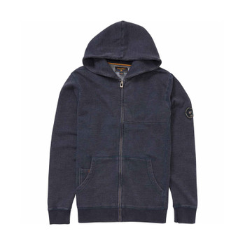 Billabong Wave Washed Zip Hoodie - Navy