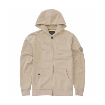 Billabong Wave Washed Zip Hoodie - Light Khaki