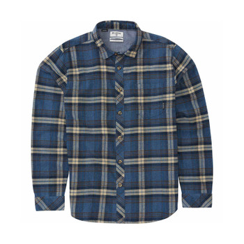 Billabong Coastline Flannel - Denim