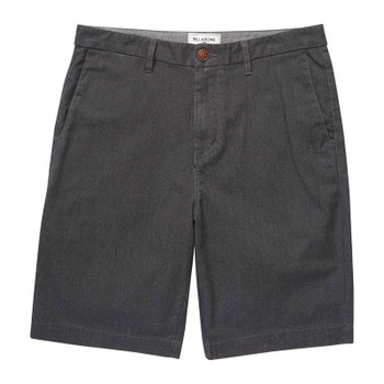 Billabong Carter Stretch Shorts - Black Heather