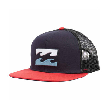 Billabong All Day Trucker Hat - Navy / Red