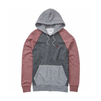 Billabong Balance Zip Hoodie - Fig Heather