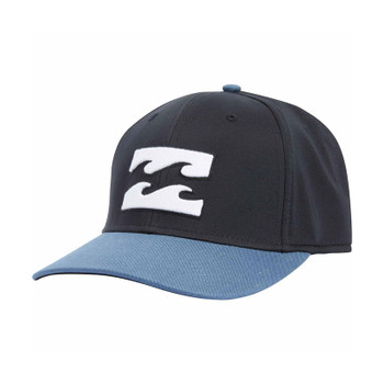 Billabong All Day Stretch Fit Hat - Black / Blue